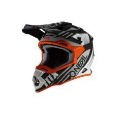 Black/White/Orange O'Neal Spyde 2.0 Helmet LHF