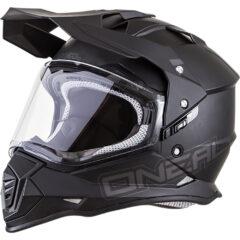 Flat Black O'Neal Sierra II Helmet Left