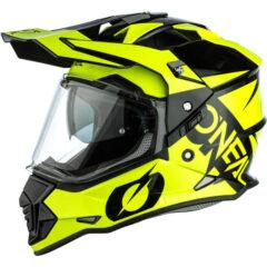 Black/Yellow O'Neal Sierra II Helmet Left