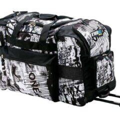Black/White O'Neal Toxic Track Wheelie Bag