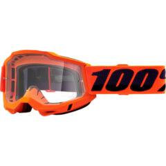Orange + Clear Lens Accuri 2 Goggle