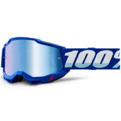 Blue + Blue Mirror Lens Accuri 2 Goggle
