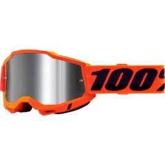 Orange + Silver Mirror Lens Accuri 2 Goggle