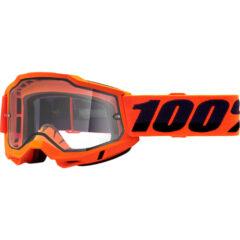 Orange + Clear Lens Accuri 2 Enduro Moto Goggle