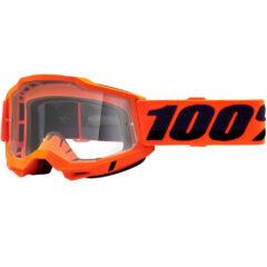 Orange + Clear Lens Accuri 2 OTG Goggle