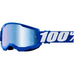 Blue + Blue Mirror Lens Strata 2 Goggle
