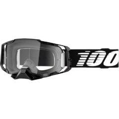 Black + Clear Lens Armega Goggle