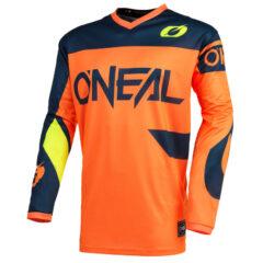 Orange/Blue O'Neal 21 Element Racewear Jersey Front