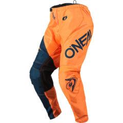 Orange/Blue O'Neal 21 Element Racewear Pant Front