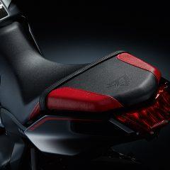 Red Black Suzuki Katana Two Toned Coloured Seat