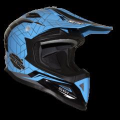Shotgun Gloss Neon Blue RXT SG1 Ultra Helmet