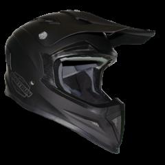 Shotgun Matt Black RXT SG1 Ultra Helmet