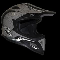 Shotgun Matt Black/Cool Grey RXT SG1 Ultra Helmet