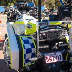 Police bikes too enjoy the latest tech.