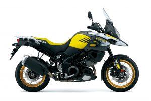 Yellow Suzuki V-Strom 1000X 2018