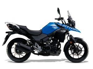 Triton Blue Suzuki V-Strom 250 2019