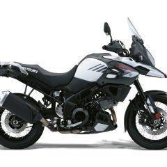 Suzuki V-Strom 1000X White Right Side