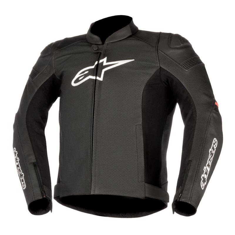Black Alpinestars SP-1 Leather Jacket