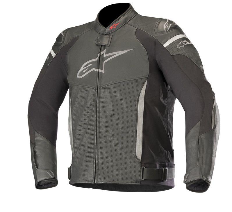 Black Alpinestars SP-X Perforated Leather Jacket