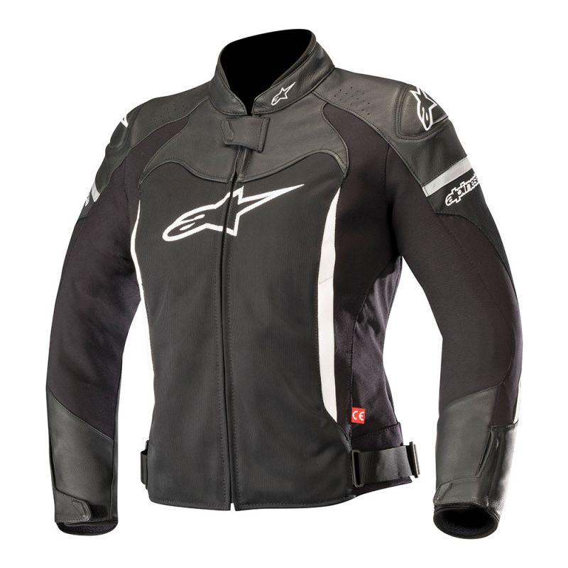 Black/White Alpinestars Stella SP-X Air Womens Jacket