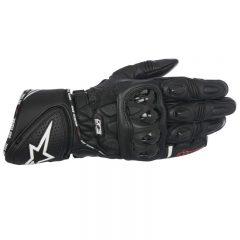 Black Alpinestars GP Plus R Leather Glove