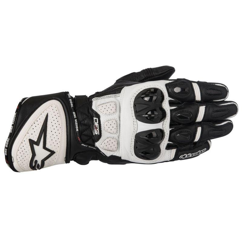 Black/White Alpinestars GP Plus R Leather Glove