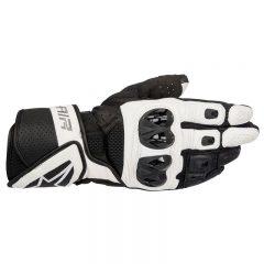 Black/White Alpinestars SP Air Mens Leather Glove