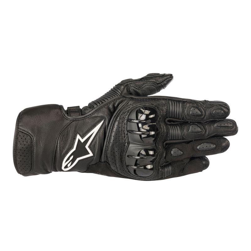 Black Alpinestars SP-2 V2 Leather Glove
