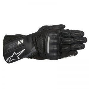 Alpinestars SP-8 V2 Mens Leather Glove - Black/Grey