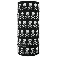 ZANheadgear Motley Tube - Skull & Crossbones