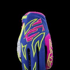Blue/pink/yellow Five MXF3 Flash Glove