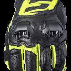 Black/Fluro Yellow Five SF3 Glove