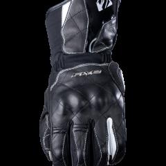 Black/White Five WFX Skin Waterproof Womans Glove