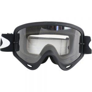 Matt Black + Clear Lens Oakley O Frame Goggle
