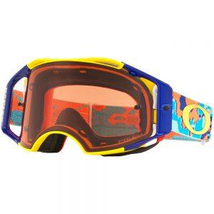 Thermo Camo Orange/Blue + Prizm Bronze Lens Oakley Airbrake Goggle