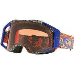 Dazzle Dyno Orange/Blue + Prizm Bronze Lens Oakley Airbrake Goggle
