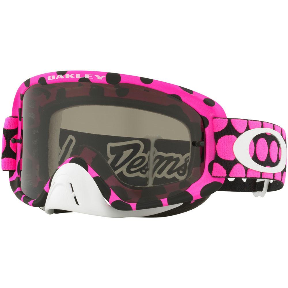 ca8653e3897 Oakley O Frame 2.0 Goggle - TLD Faded Dot Pink + Clear Lens ...