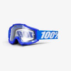 Reflex Blue + Clear Lens100% Accuri Goggle