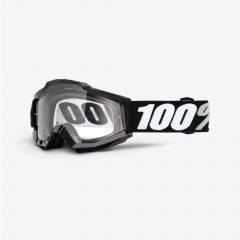 Tornado + Clear Lens 100% Accuri Goggle