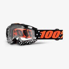 Gaspard + Clear Lens 100% Accuri Goggle