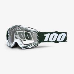 Bali + Clear Lens 100% Accuri Goggle
