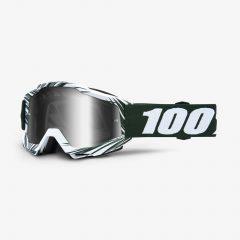Bali + Mirror Silver Lens 100% Accuri Goggle