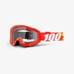 Furnace + Clear Lens 100% Strata Goggle