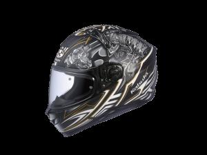 Samurai Matt Black/WhiteKabuto Aeroblade 5 Helmet