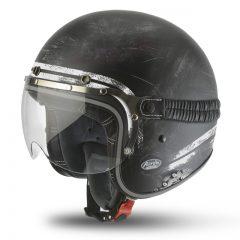 Raw Matt Black Airoh Garage Helmet