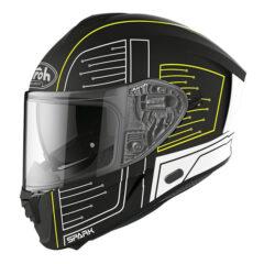 Cyrcuit Black Matt Airoh Spark Helmet Left