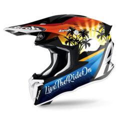 Lazyboy Gloss Airoh Twist 2.0 Helmet Left