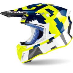 Frame Blue Gloss Airoh Twist 2.0 Helmet