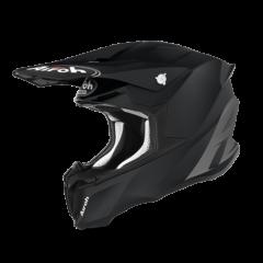 Black Matt Airoh Twist 2.0 Helmet Left