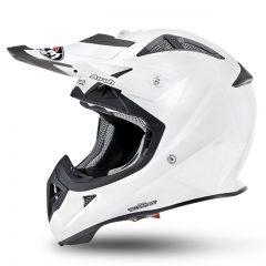 Solid Gloss White Airoh Aviator 2.2 Junior Helmet